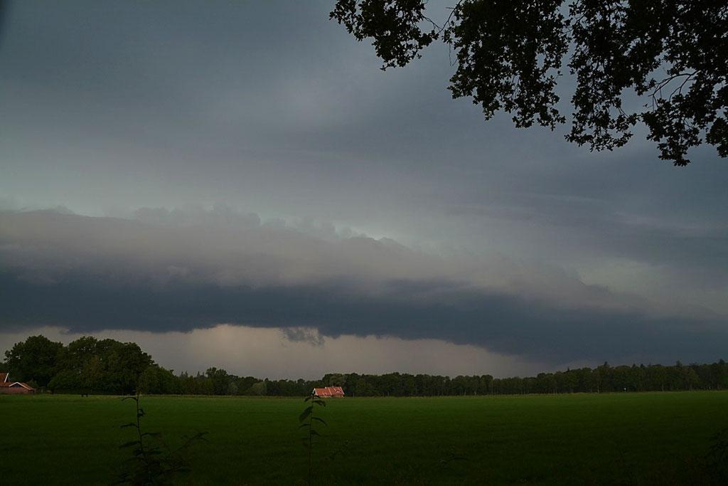 Aanstormend onweer