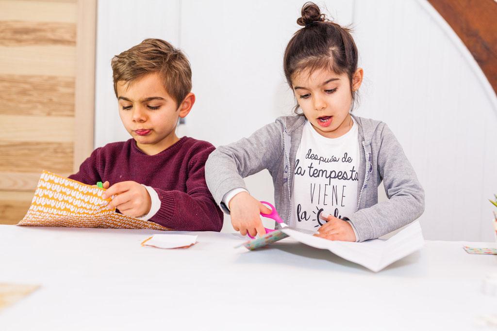 Galette des rois  Atelier enfants Nantes My Littel tribu Orlane Boisard