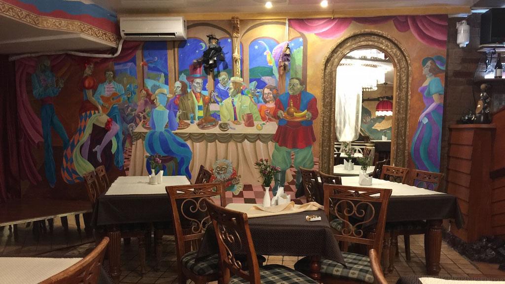 老舗ロシア料理店