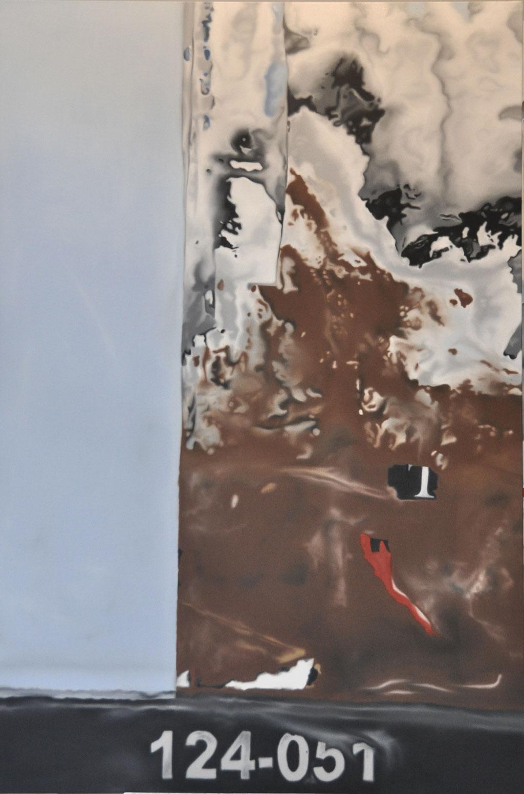 124-051, oil on canvas, 120 x 180 cm, 2018