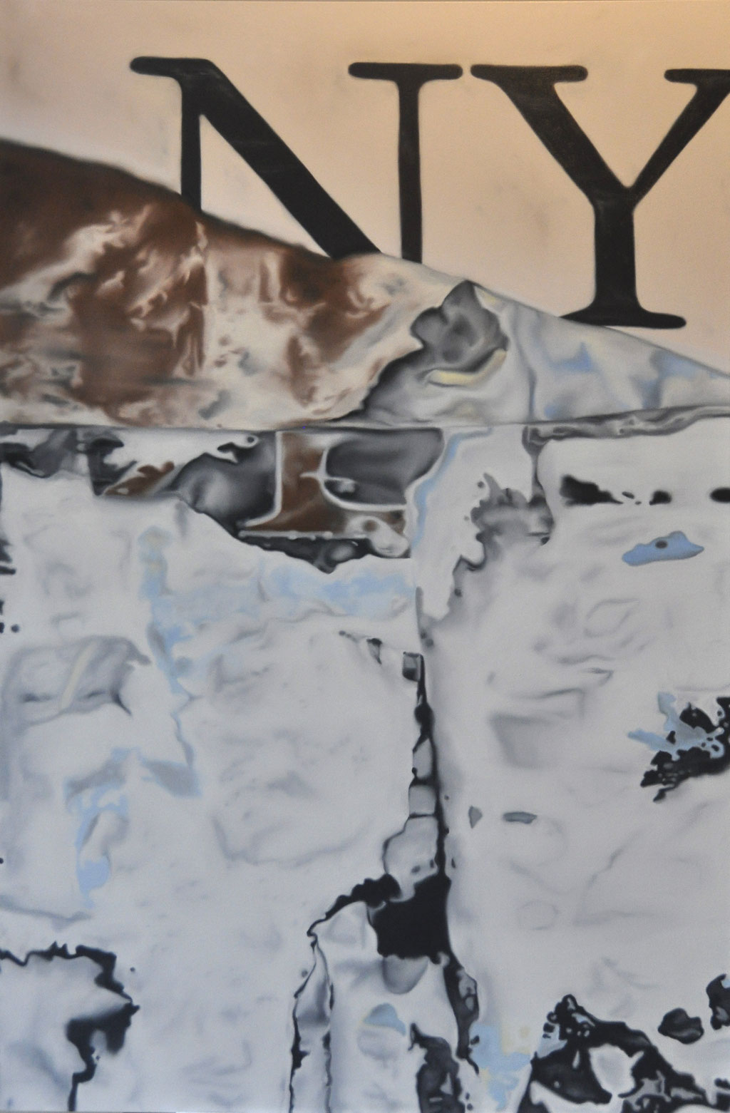 NY, oil on canvas, 120 x 180 cm, 2018