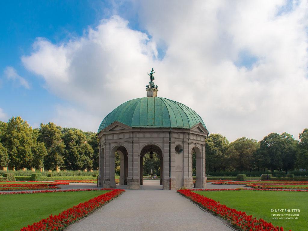 """Der """"Venuspavillion"""" im Hofgarten"""