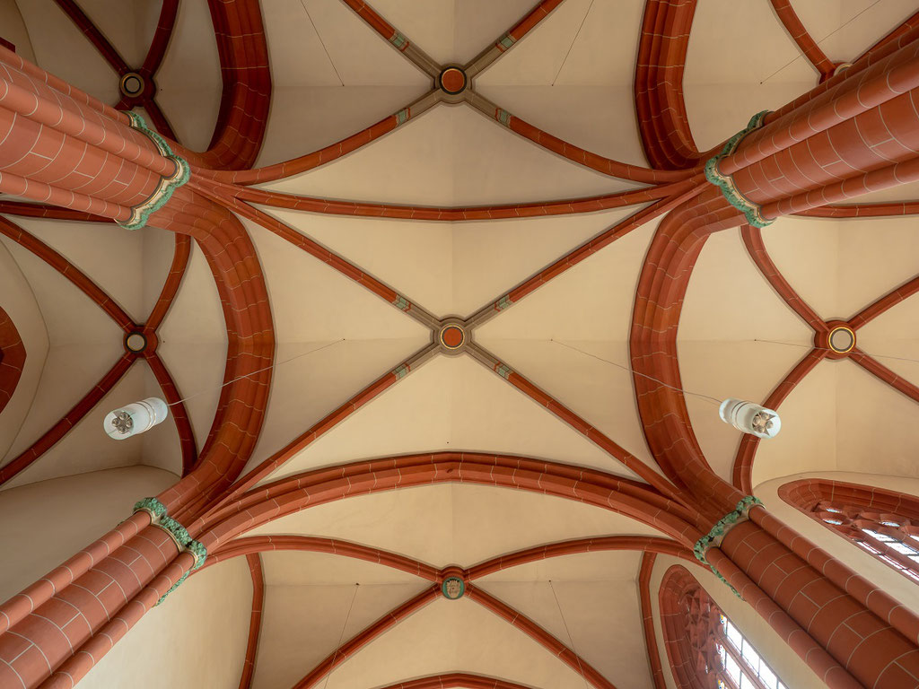 Gewölbe der Marienkirche