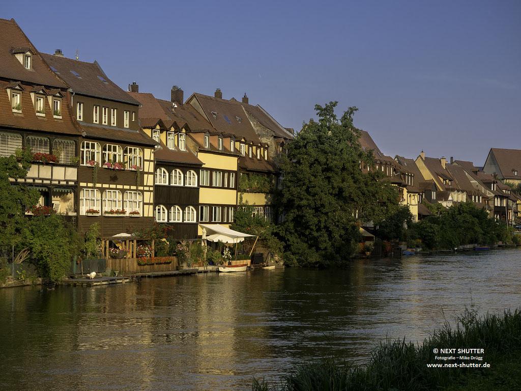 """Dieser Teil Bambergs wird """"Klein - Venedig"""" genannt"""