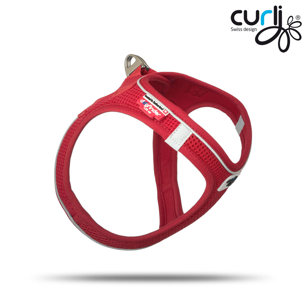 Curli Vest Magnetic Red