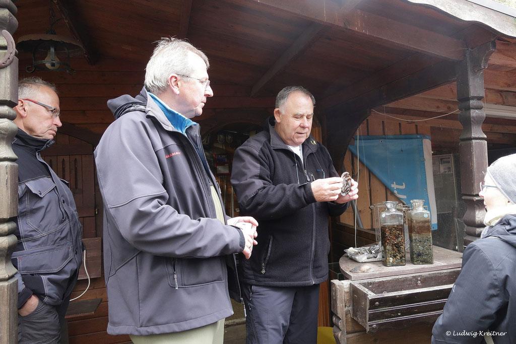Manfred Fetthauser und die Flusspermuschel