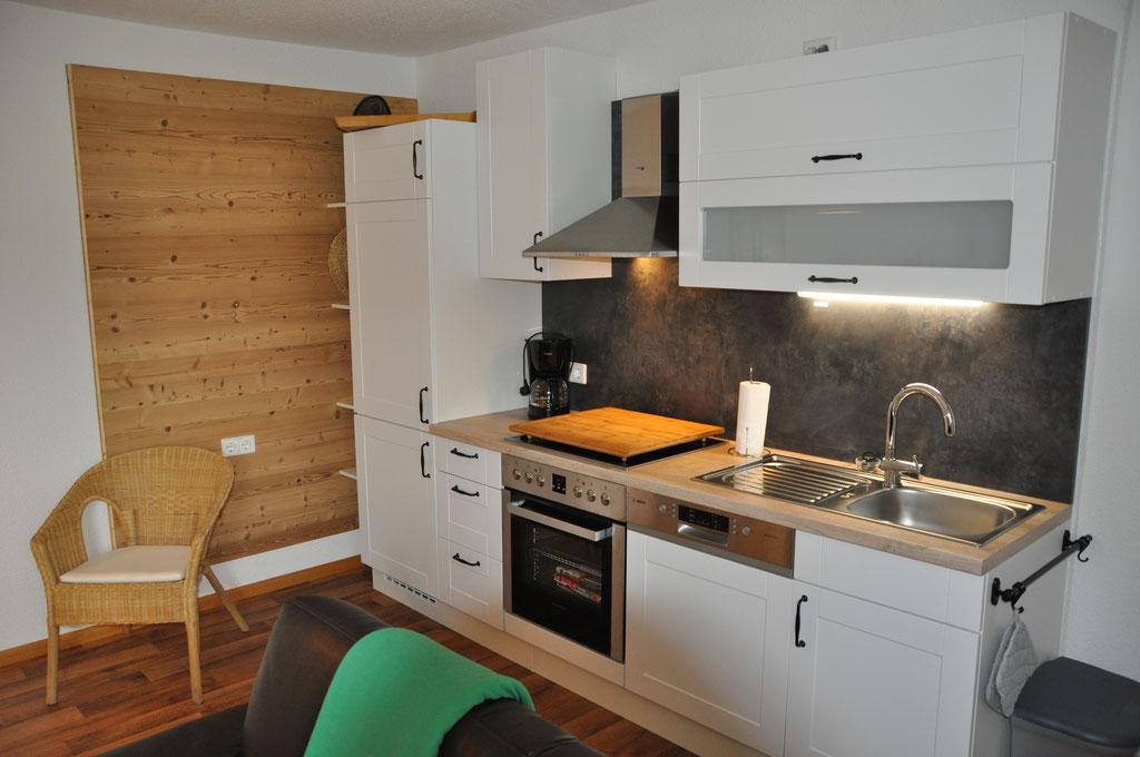 Küchenzeile Ahornbaum