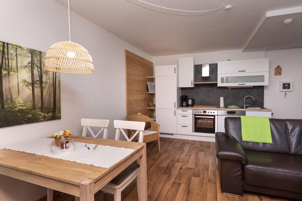 Wohnküche Ahornbaum