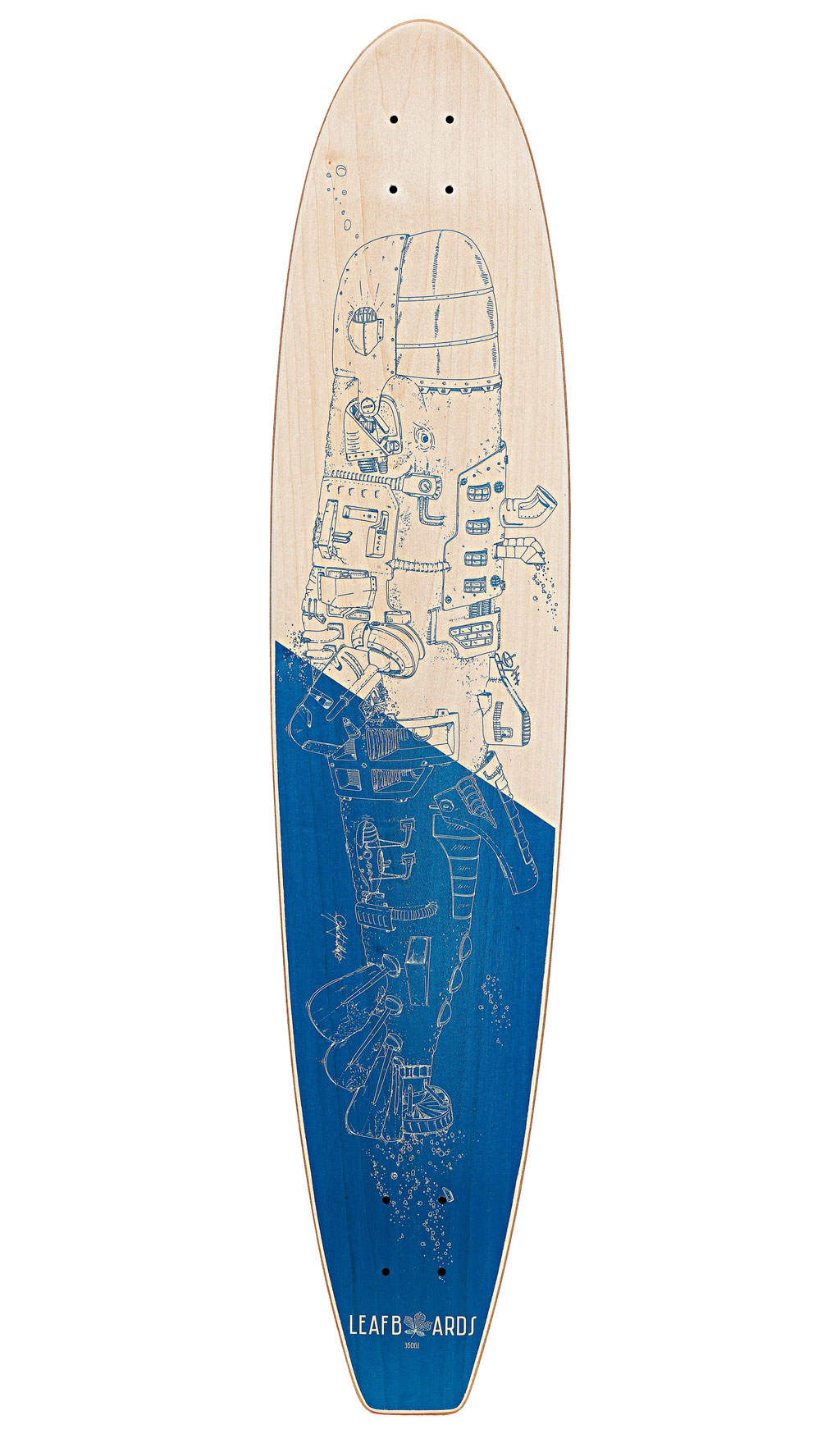Tavola longboard Single Fin board