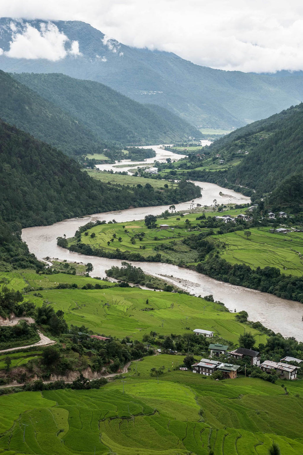 Wanderung/hike zum/to Khamsum Yulley Namgyal Chorten, Bhutan