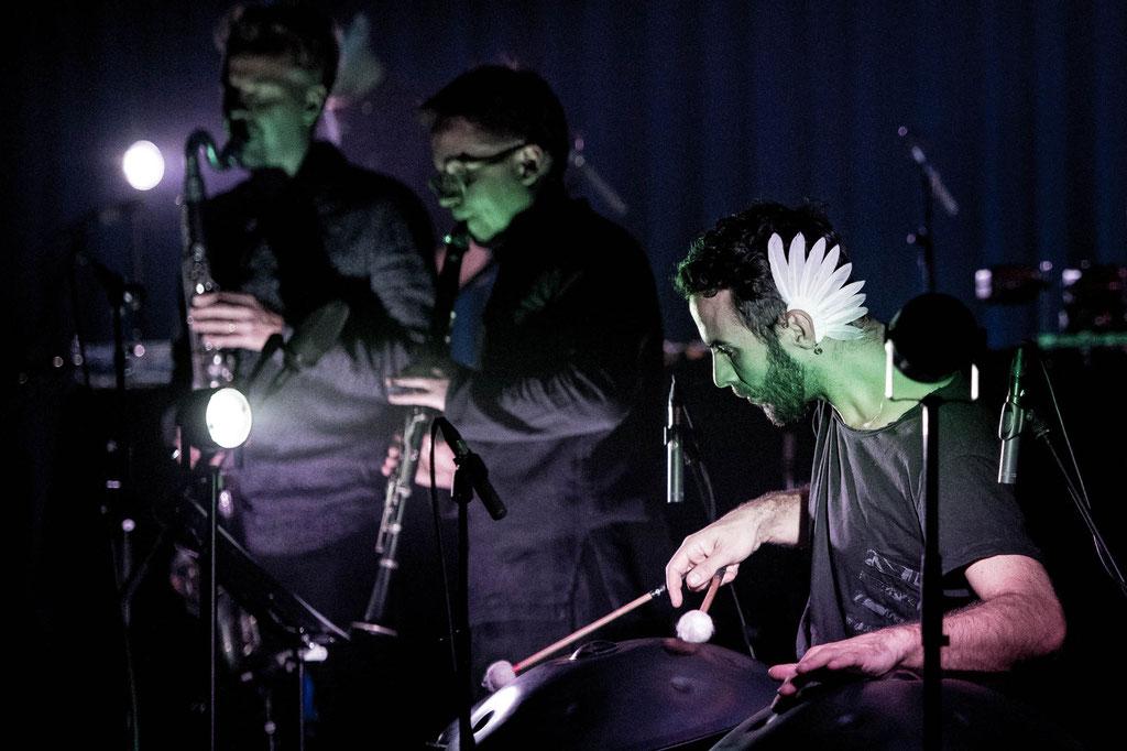 Manu Delago Ensemble, 2019, Spielboden Dornbirn (A)