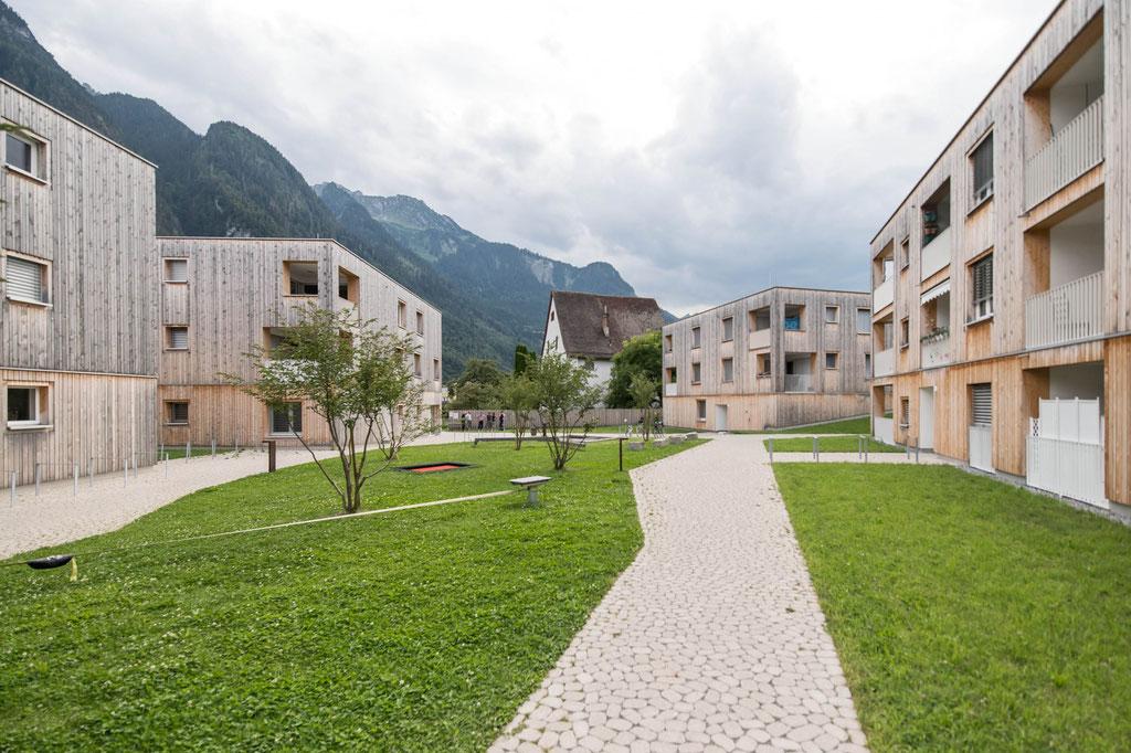 Wohnsiedlung Maierhof (feld72), Bludenz (A)