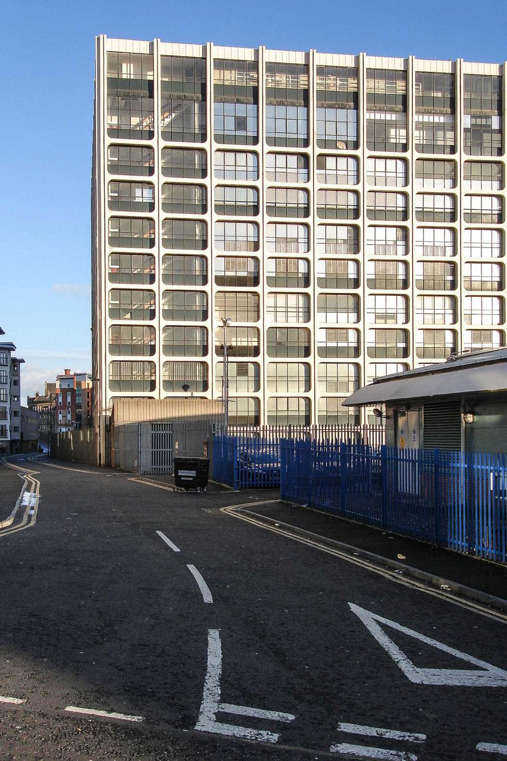 British Telecom Hadrian Building, Newcastle upon Tyne (UK)