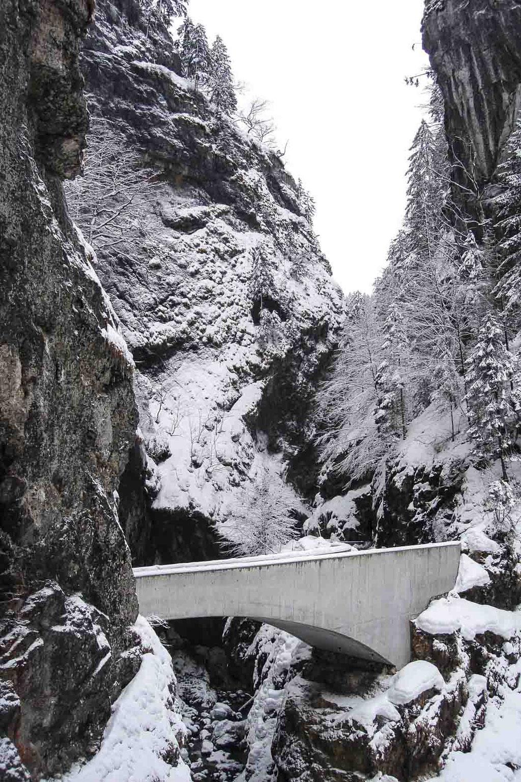 Schaufelschluchtbrücke Ebnit (Marte.Marte), Dornbirn (A)