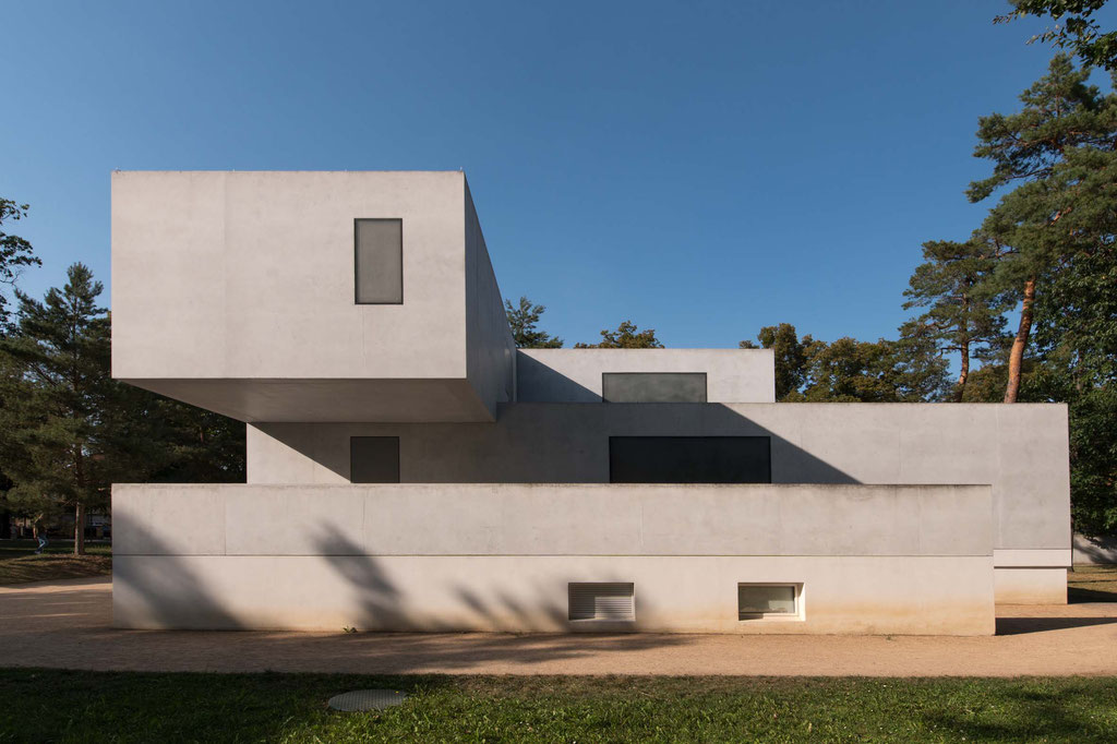 Meisterhäuser, Wiederaufbau Haus Gropius (Bruno Fioretti Marquez), Dessau (D)