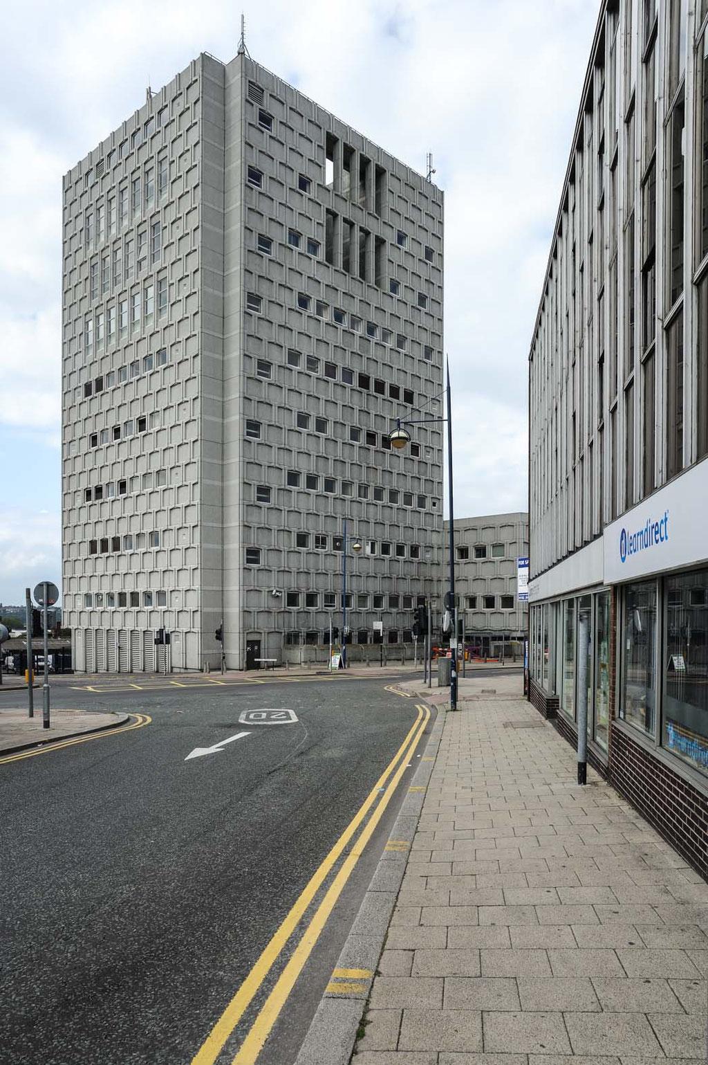 Telephone Exchange, Hanley, Stoke-on-Trent (UK)