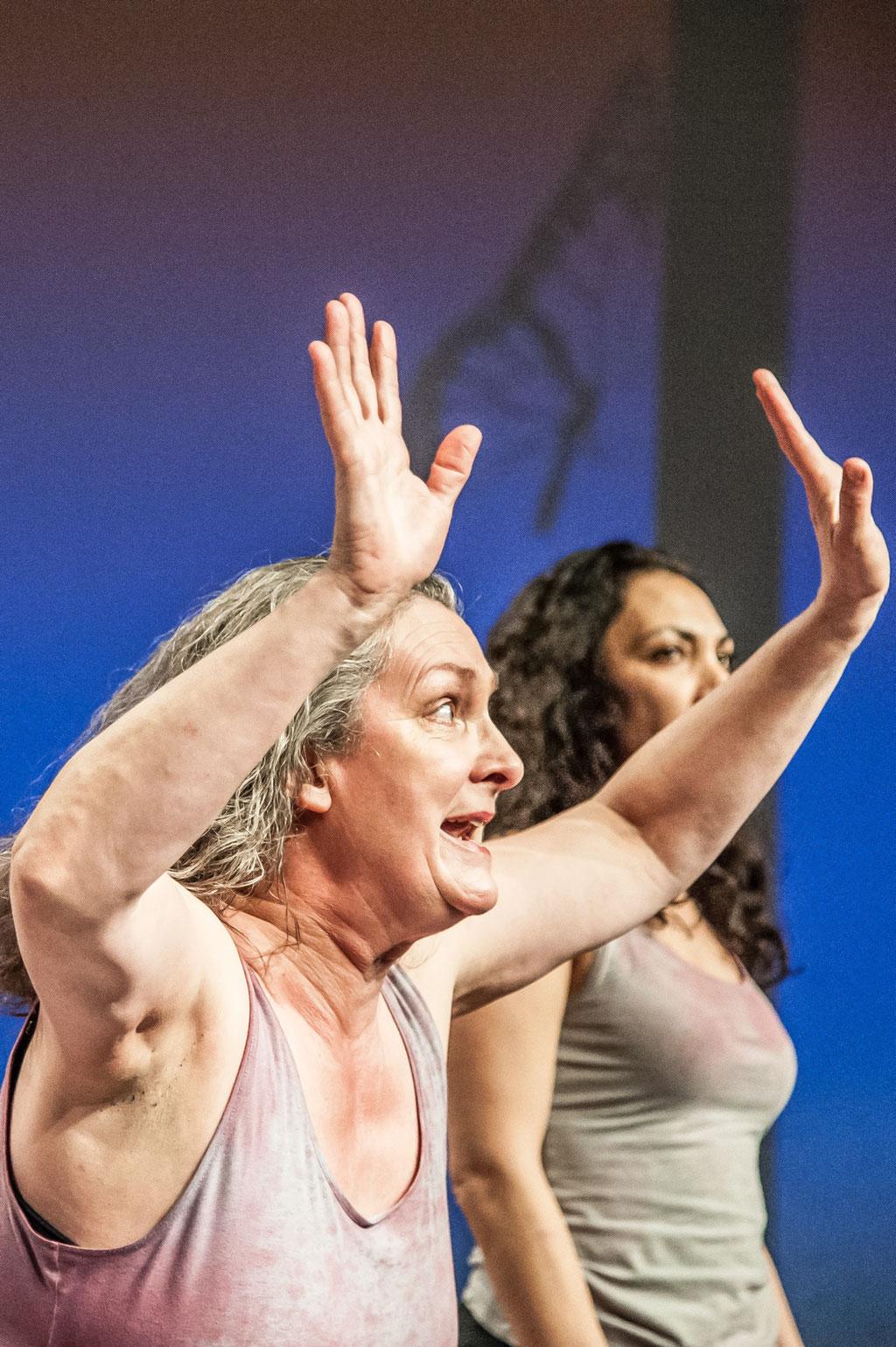 """Aktionstheater Ensemble, """"Ich Glaube"""", 2018, Spielboden Dornbirn (A)"""