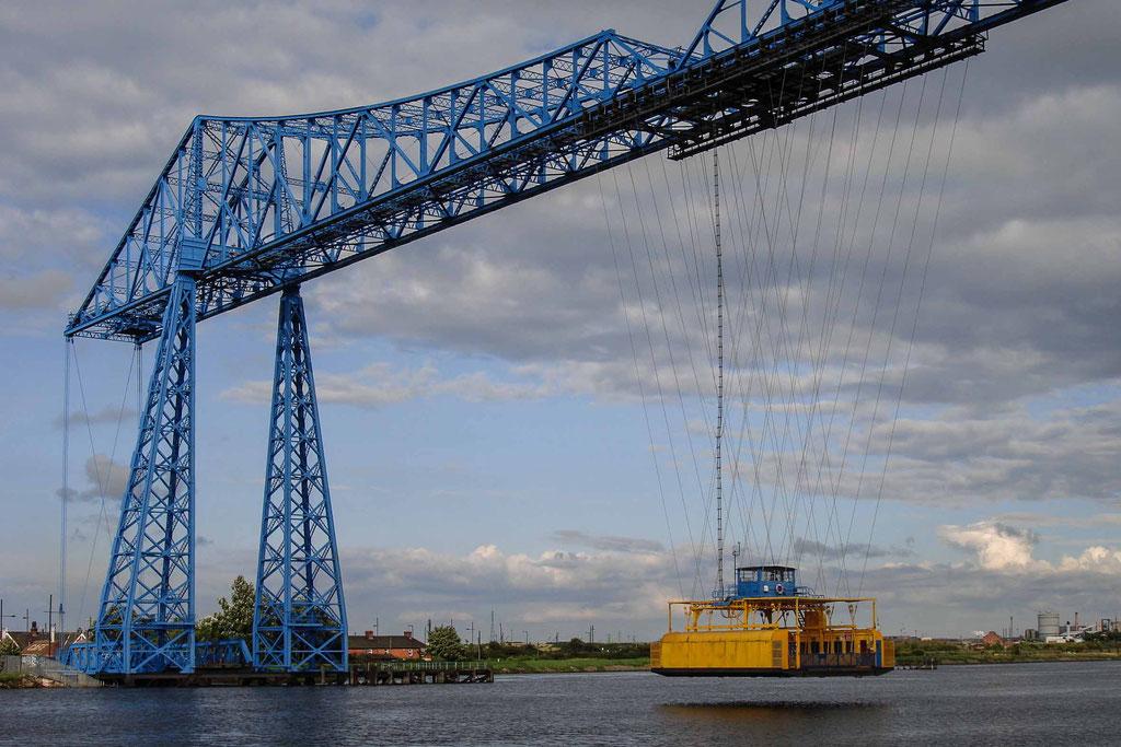 Tees Transporter Bridge, Middlesbrough (UK)
