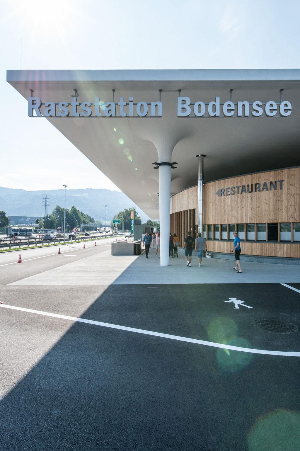 Raststation Bodensee (Christian Lenz), Hörbranz (A)