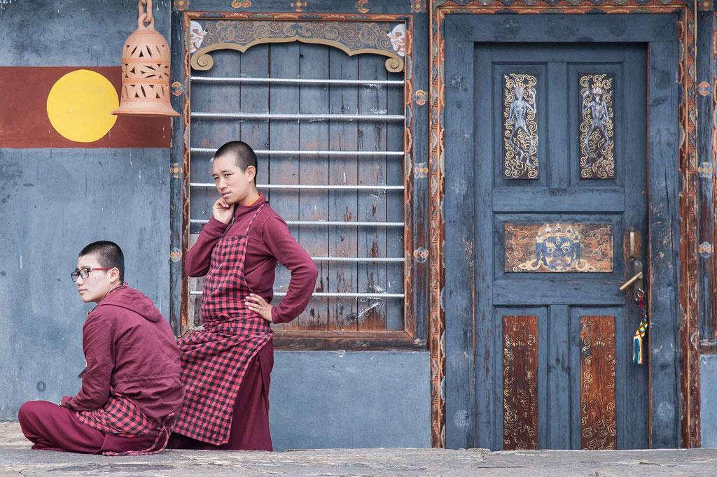 Sangchen Dorji Lhundrup Nonnenkloster/nunnery, Bhutan