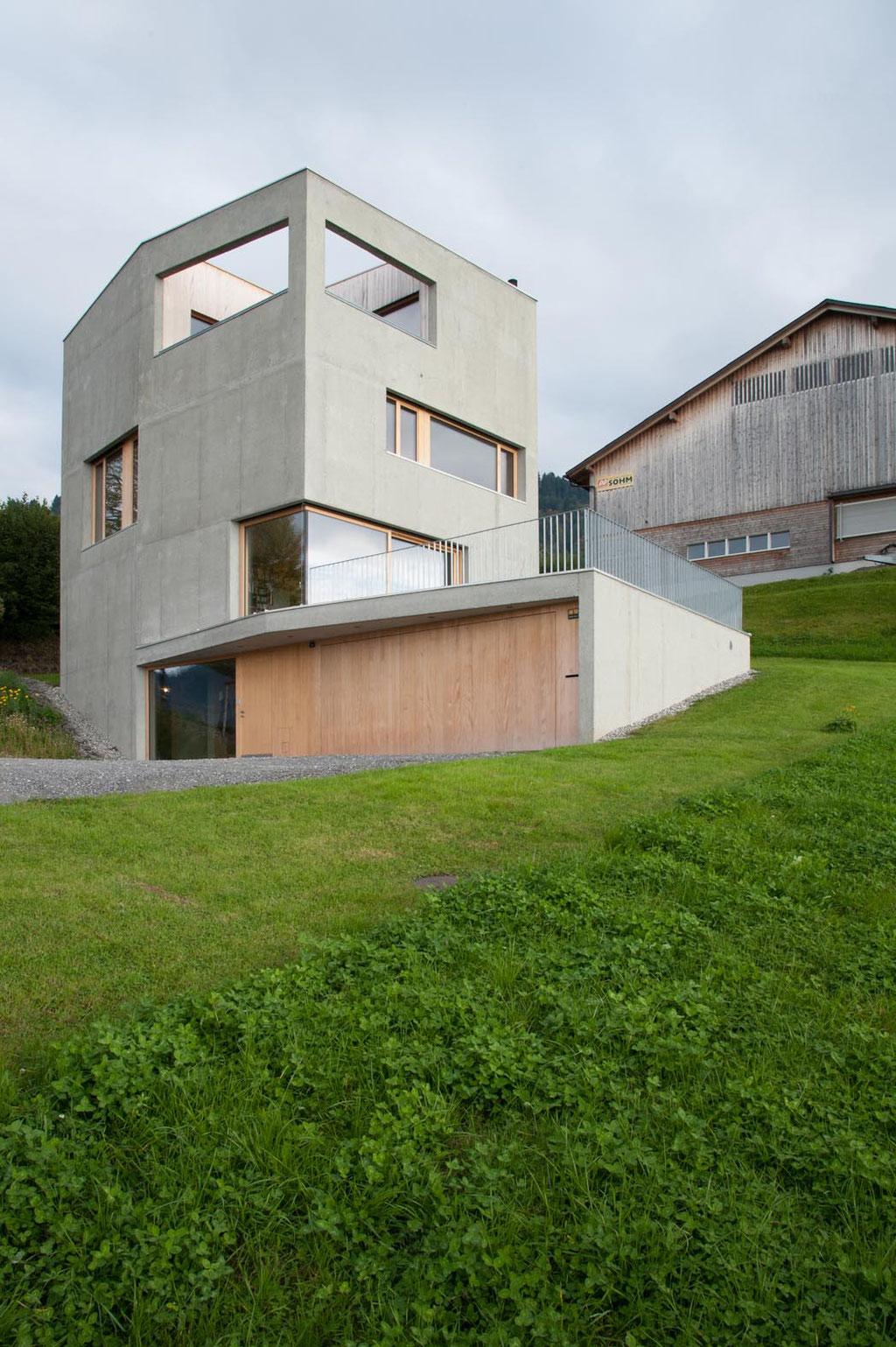 Haus S. (Wellmann Ladinger), Batschuns (A)