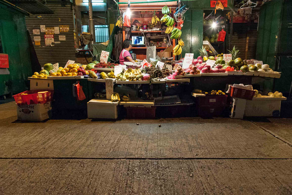 Canon Road South, Fruit Market, Kowloon (HK)