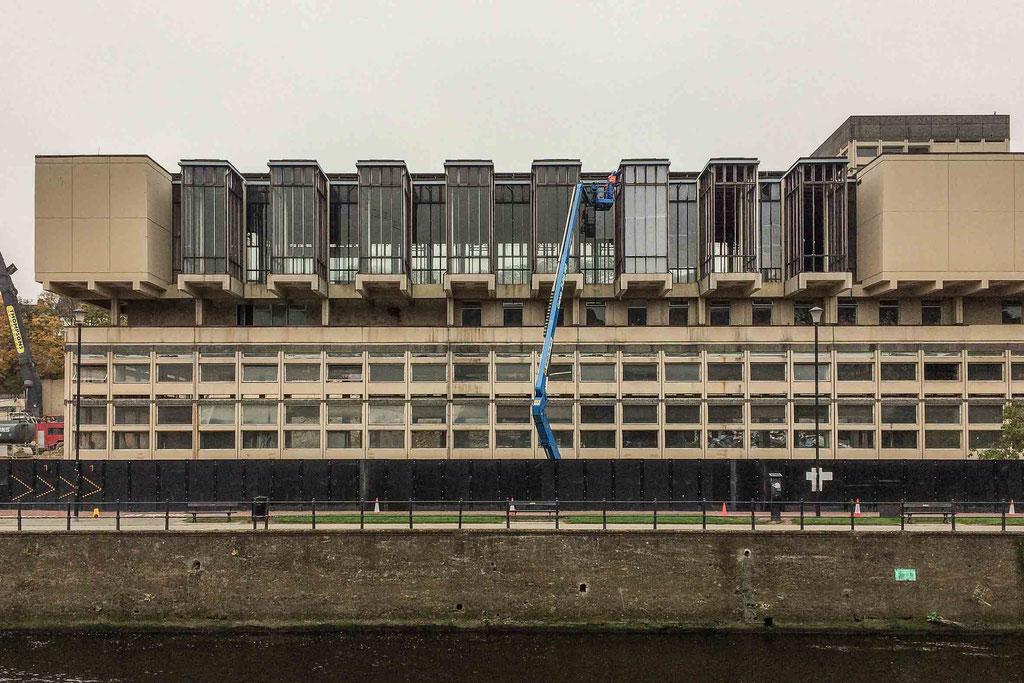 Milburngate House (Passport Office), abgerissen/demolished 2017, Durham (UK)