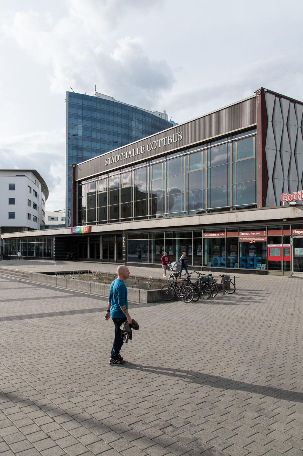 Stadthalle (Eberhard Kühn), Cottbus (D)