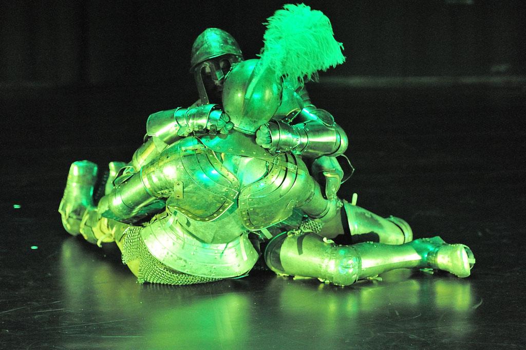 """Alexander Gottfarb & Alex Deutinger """"Chivraly Is Dead"""", Tanz Ist Festival 2015, Spielboden Dornbirn (A)"""