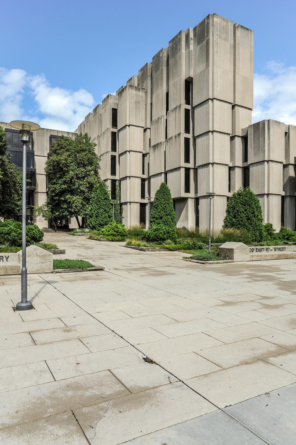 Joseph Regenstein Library (Skidmore, Owings & Merrill), University of Chicago, Chicago (USA)