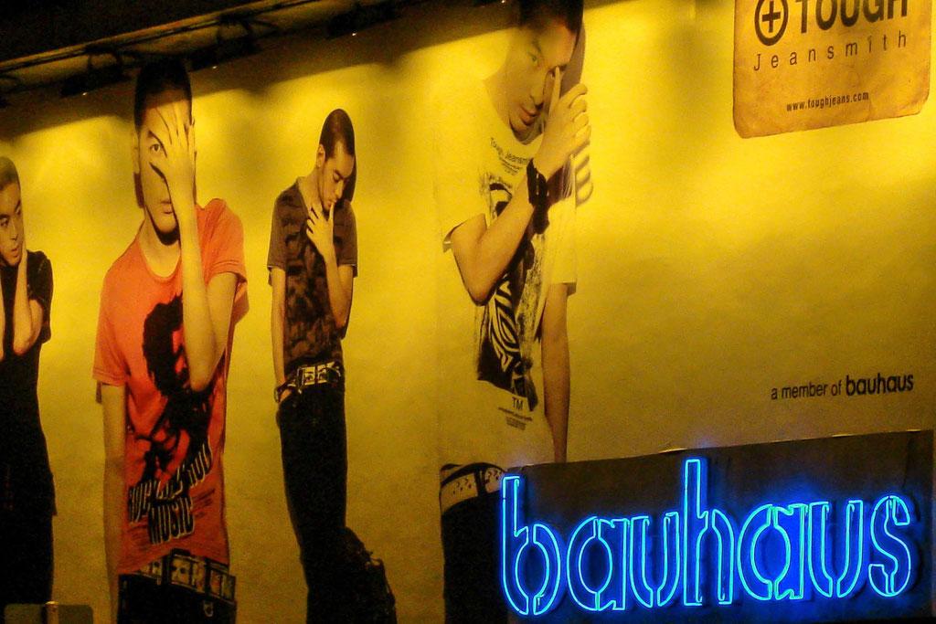 Bauhaus Fashion Label, Mongkok, Kowloon (HK)