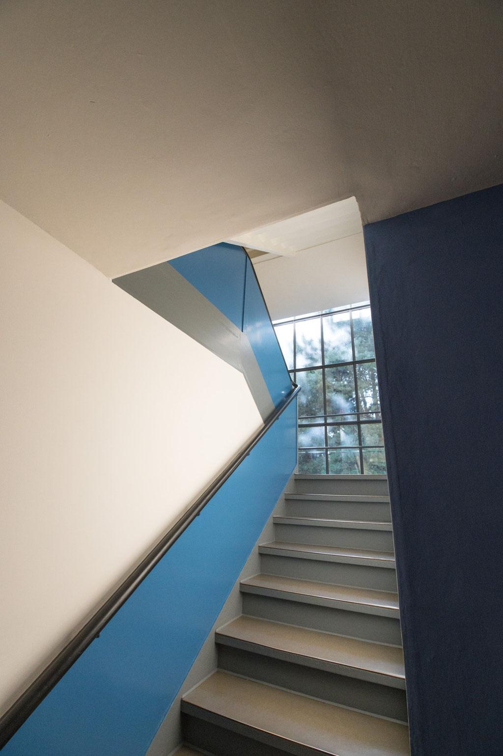 Treppe Meisterhäuser (Walter Gropius), Dessau (D)