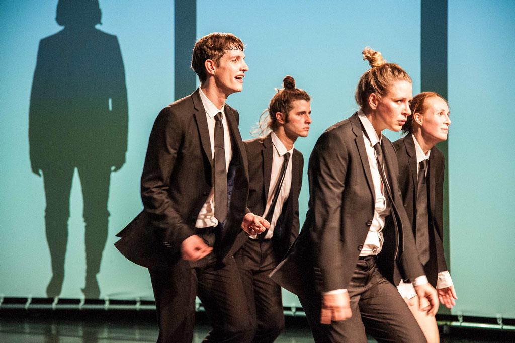 "Aktionstheater Ensemble, ""Swing: Dance To The Right"", 2017, Spielboden Dornbirn (A)"