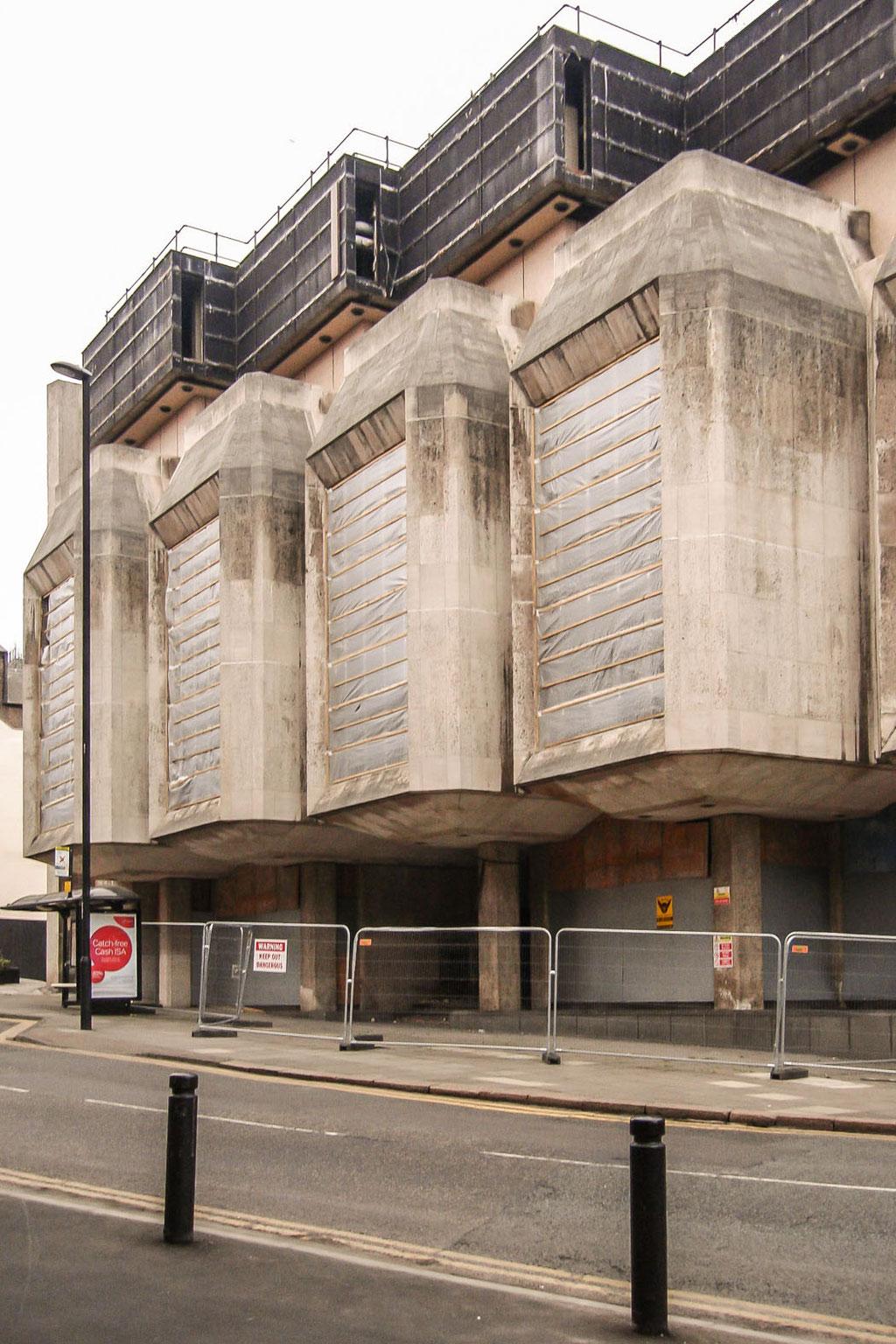 Bank Of England (Sir Basil Spence, Fitzroy, Robinson & Partners), abgerissen/demolished 2012, Newcastle upon Tyne (UK)