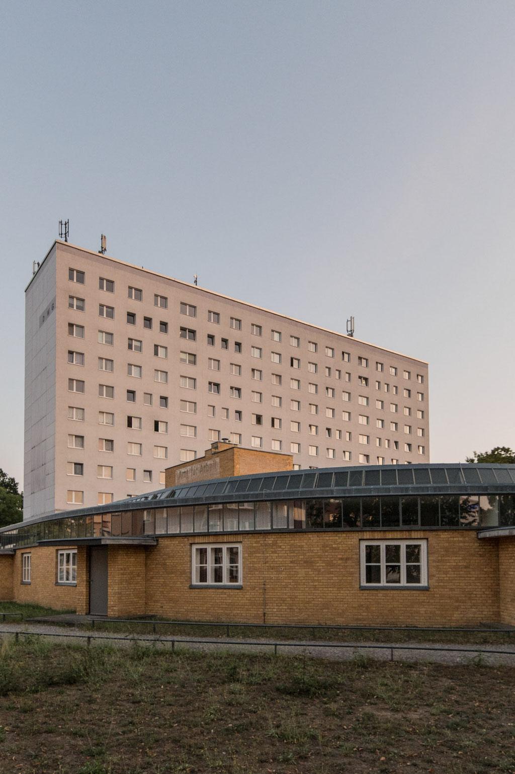 Arbeitsamt (Walter Gropius), heute Ordnungsamt, Dessau (D)