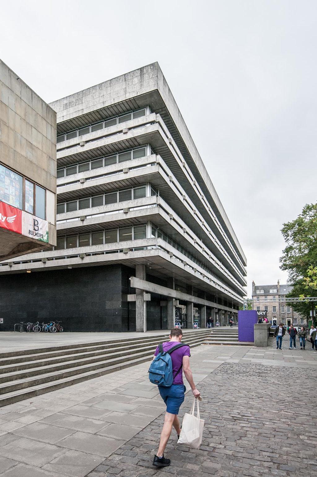 Edinburgh Main Library (Sir Basil Spence), Edinburgh (UK)