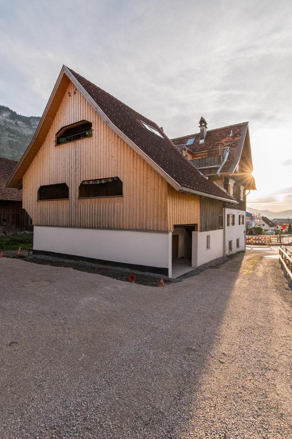 Dachgeschoß Haus Haslachgasse Mühlebach (ARSP, Simone Schleichert, Frank Stasi), Dornbirn (A)