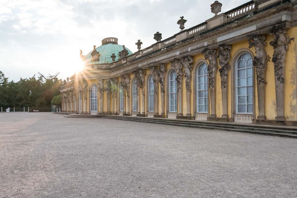 Sanssouci Palast/Palace, Potsdam (D)