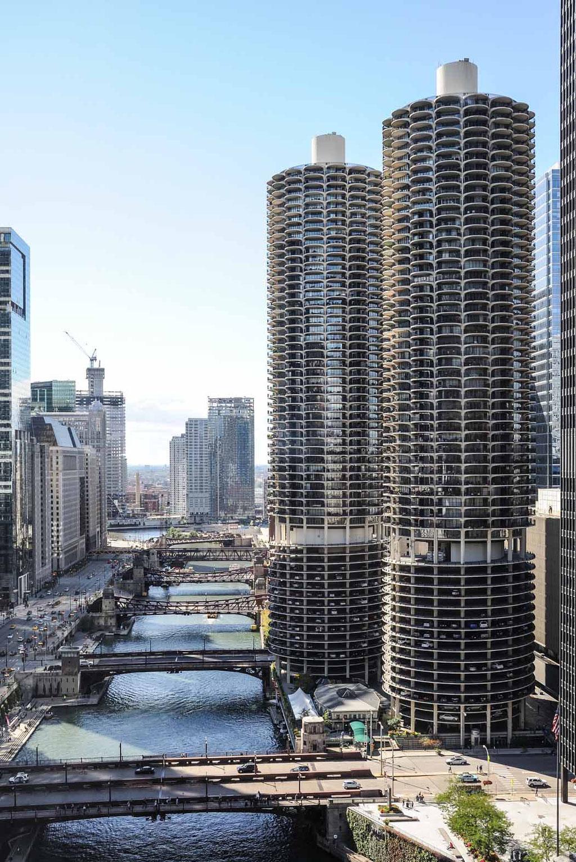 Marina City (Bertrand Goldberg), Chicago (USA)