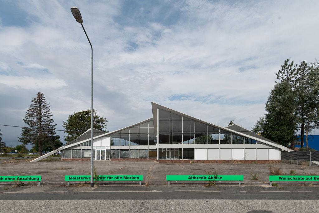 Messehalle (Ulrich Müther), ehem. Ostsee-Messe, Evershagen, Rostock (D)