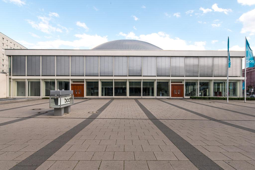 Berliner Kongresshalle, heute Congress Centrum (Hermann Henselmann, Bernhard Geyer, Jörg Streitparth & Kollektiv), Berlin (D)