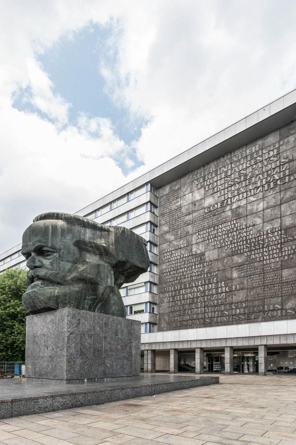 "Karl-Marx-Monument (""dor Nischl"", Lew Kerbel), Chemnitz (D)"