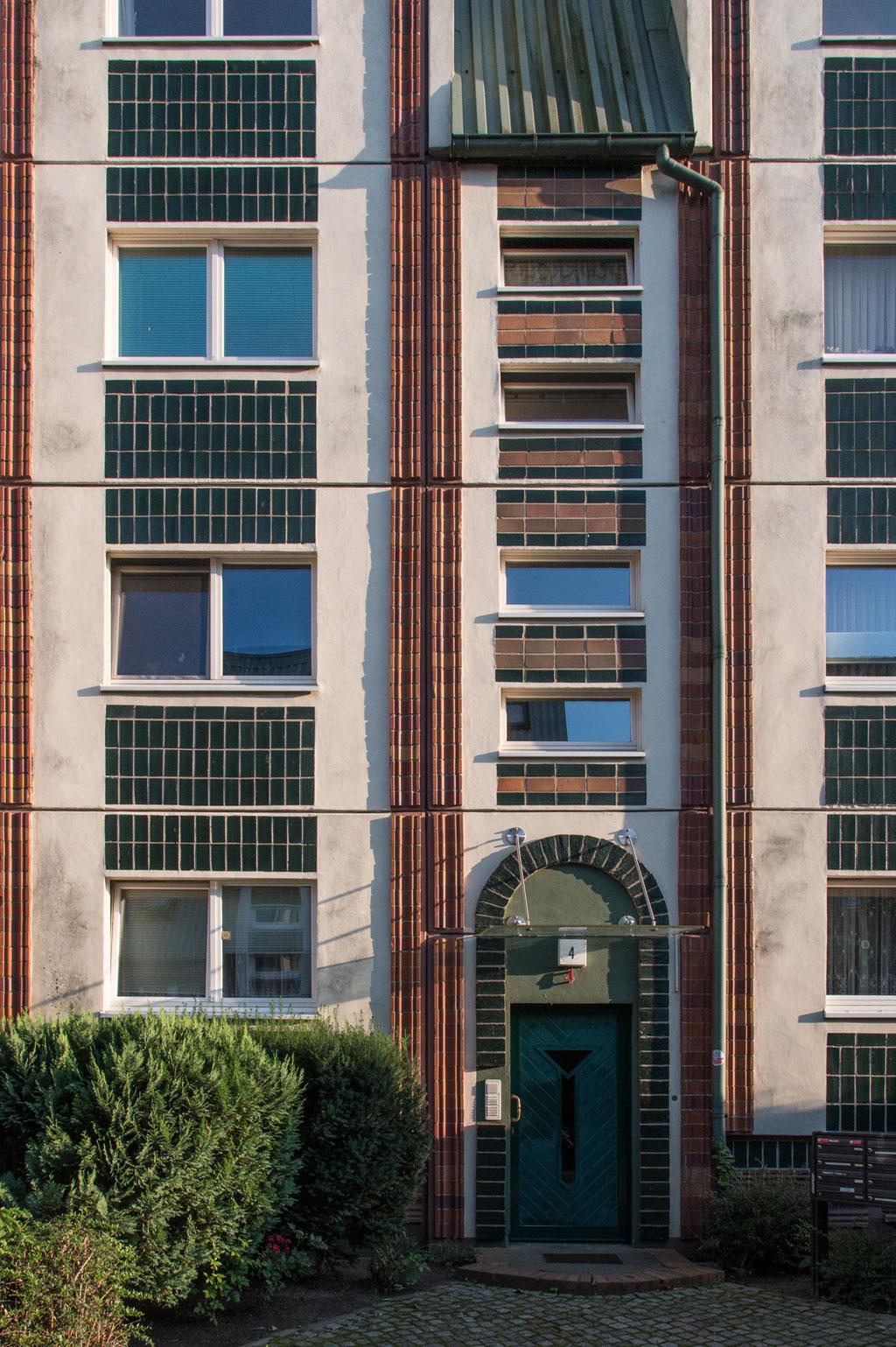Wohnbebauung Nördliche Altstadt (Wohnungsbaukombinat Rostock, Erich Kaufmann Kollektiv), Rostock (D)