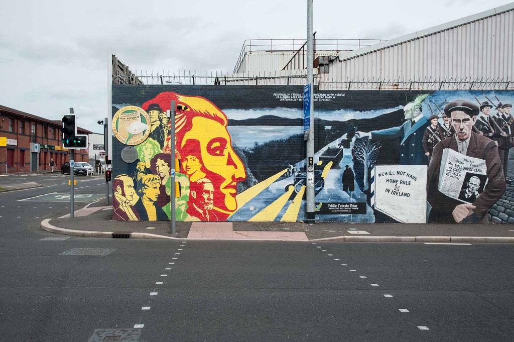 The Troubles, Belfast (NI)