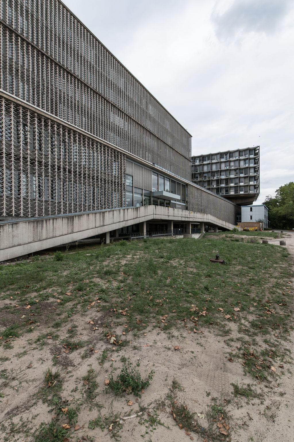 Benjamin Franklin Universitätsklinikum / University Hospital (Curtis & Davis, Franz Mocken), Berlin-Steglitz (D)