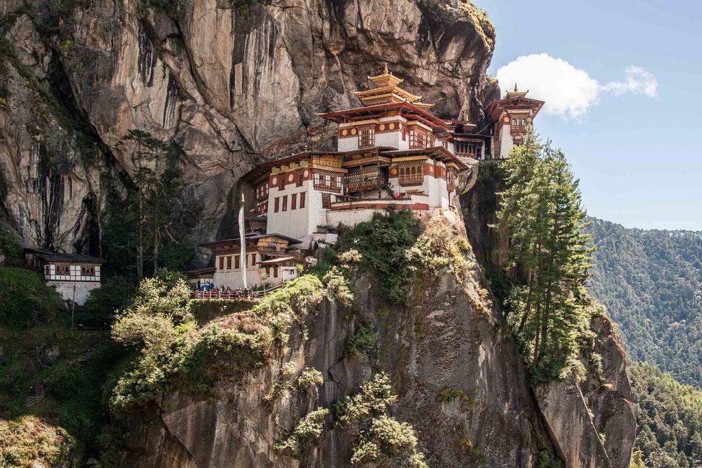 "Taktsang Palphug Monastery (""Tiger's Nest""), Bhutan"