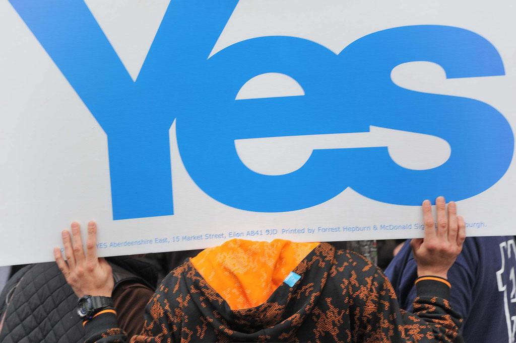 Scottish Independence Referendum 2014, Edinburgh (UK)