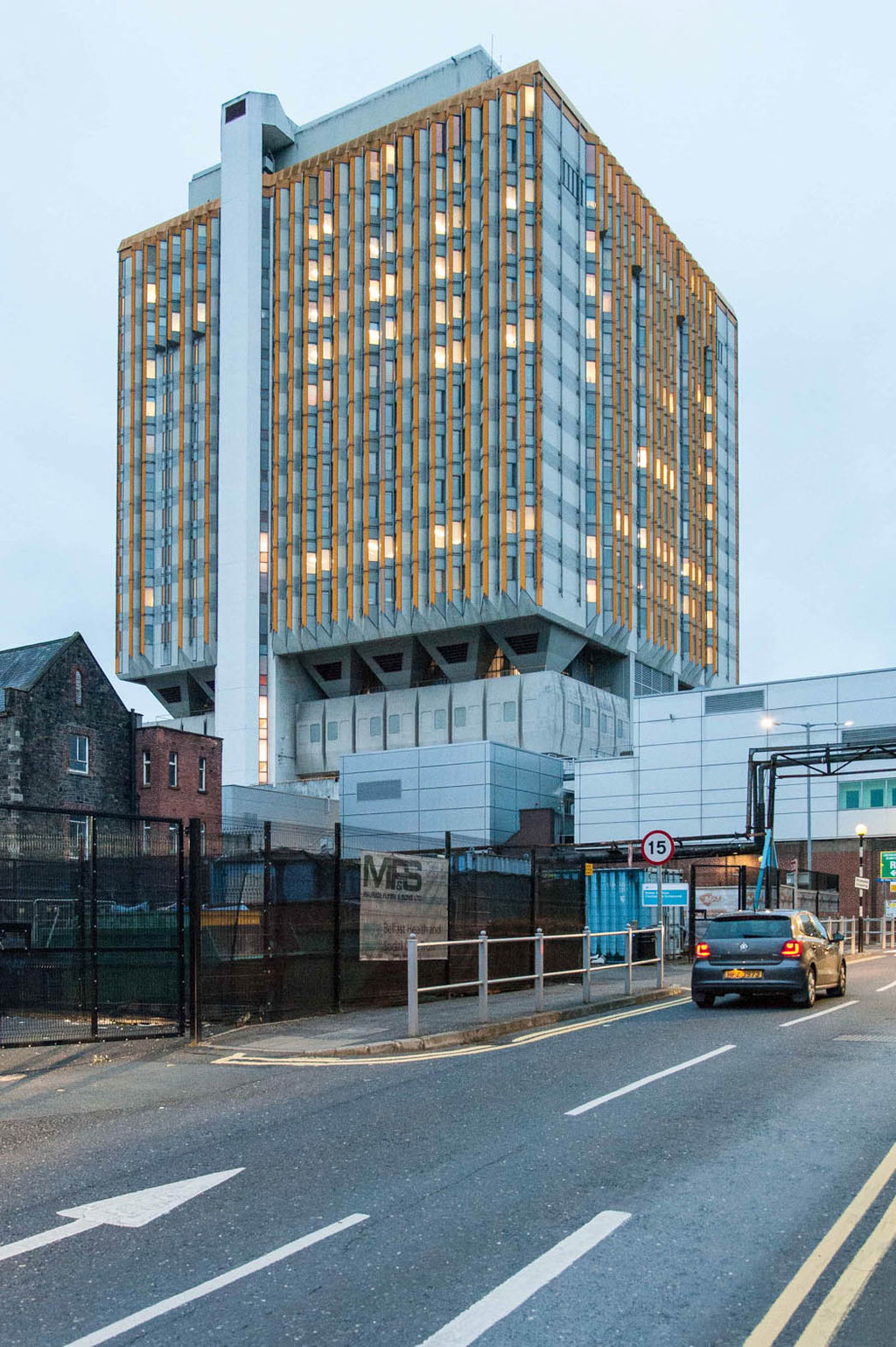Belfast City Hospital (Louis Adair Roche), Belfast (NI)
