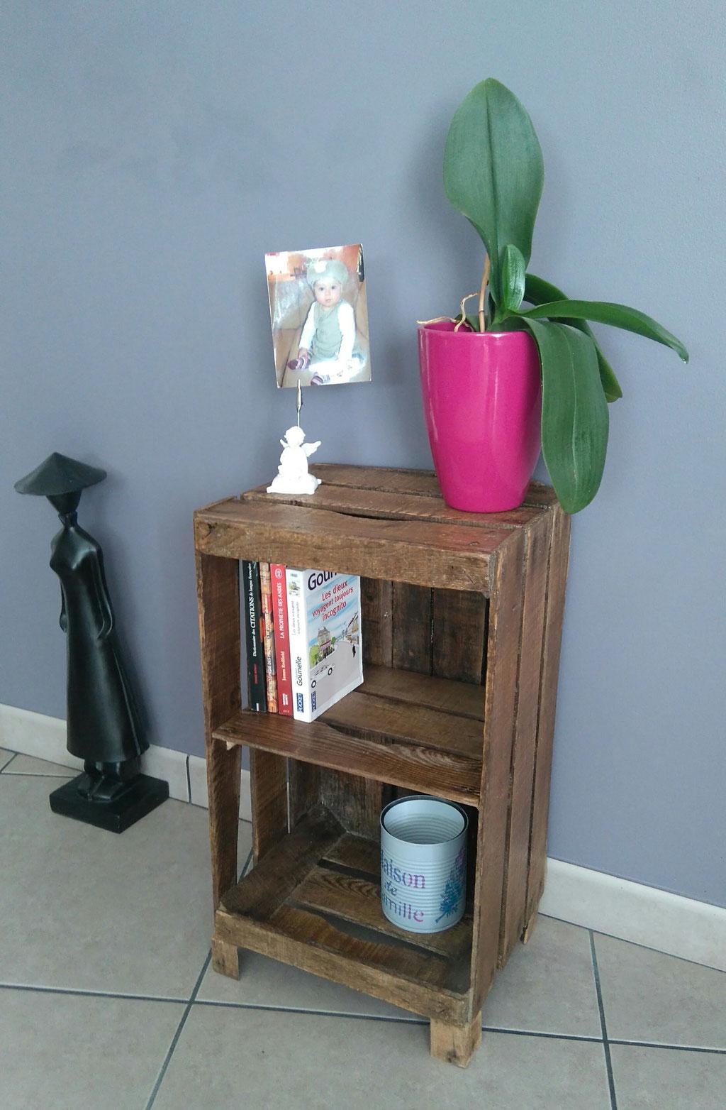Caisse De Pomme Vide le meuble - 43 bis créations : upcycling - customisation et