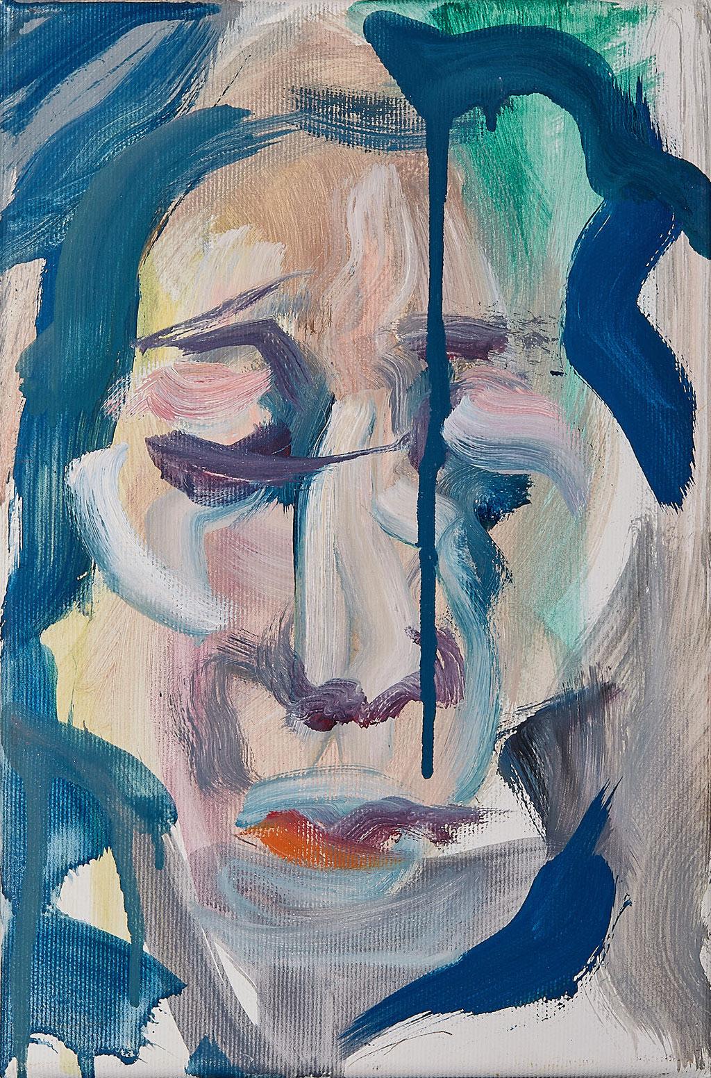 Friedrichshain - Öl - 20 x 30 cm